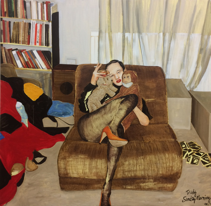 Attila Richard Lukacs Macaulay & Co Fine Art