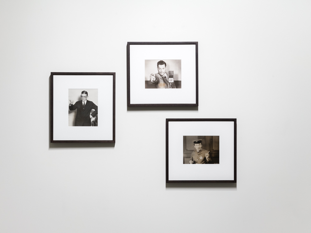 Jonah Samson, Every Exit is an Entrance Somewhere Else, 2015 Three vintage silver gelatin prints, 8 x 10 inches each