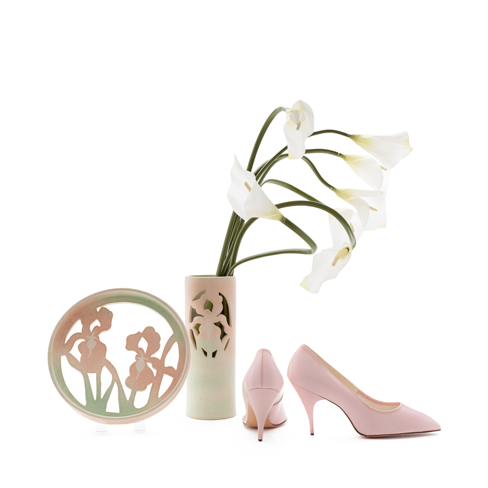 "Vintage Pink Stilettos Size 7.5 | Narrow Women's Vegan Shoes | 1950s Designer Pink High Heels | ""Bellecraft"" 